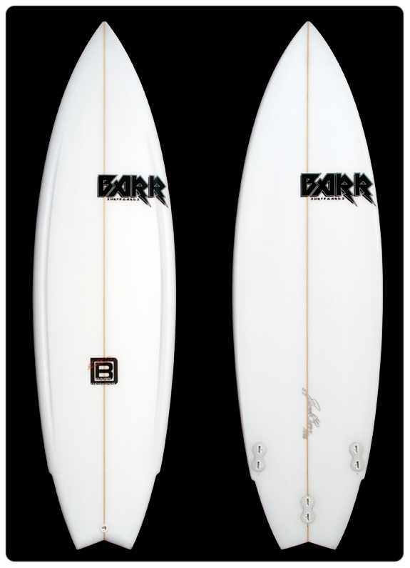 David Barr Surfboards - The Bullit