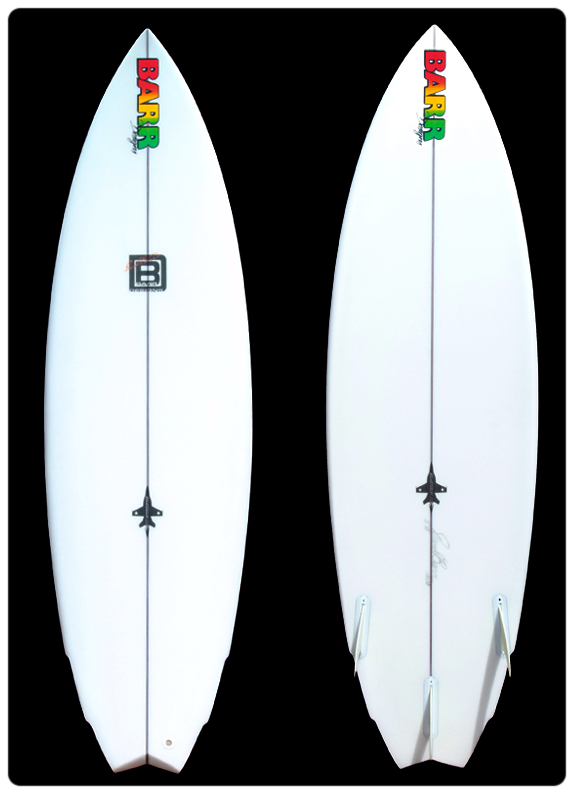 David Barr Surfboards - The Interceptor