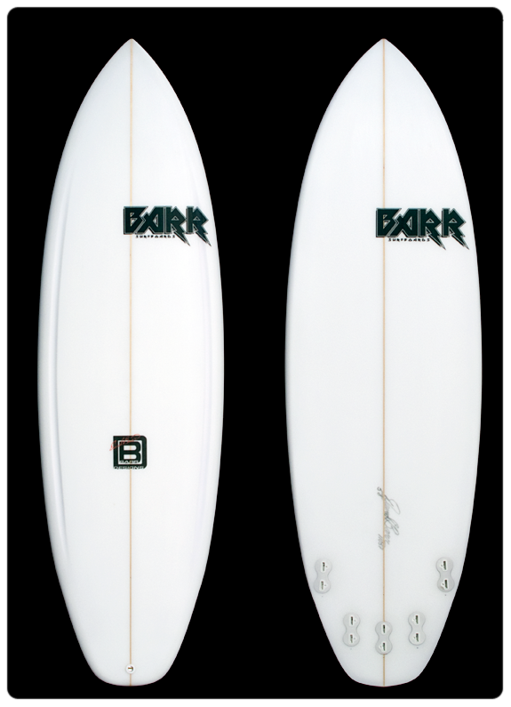 David Barr Surfboards - The Tron